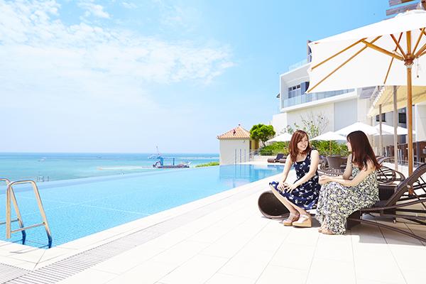 琉球温泉 瀬長島ホテル、「インフィニティプール」の営業開始